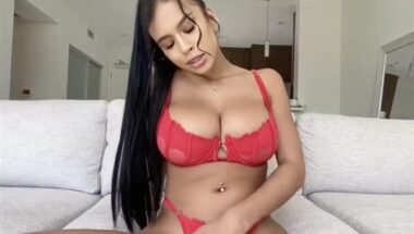 Marieplaymate marie bx red lingerie topless tease